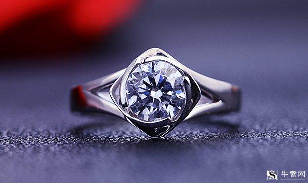 上海蒂芙尼六爪钻石戒指回收