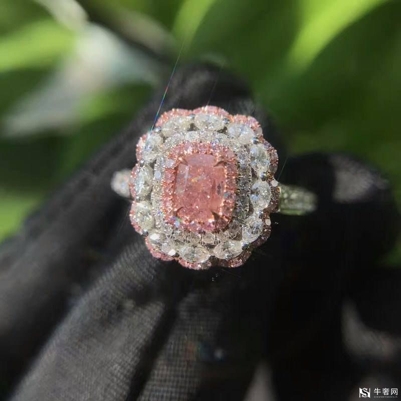 上海粉色钻石戒指回收