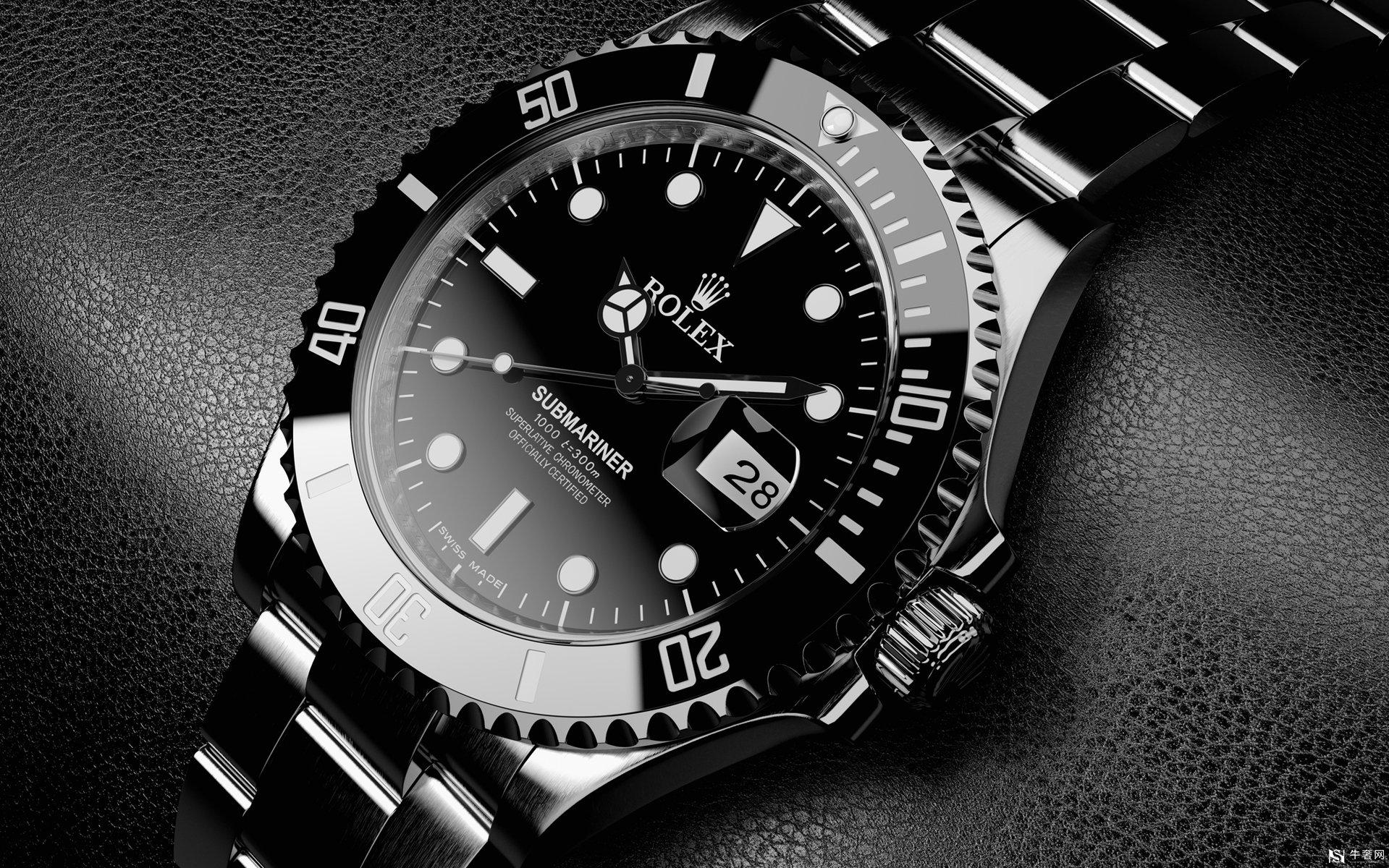 上海劳力士镶钻男士手表回收