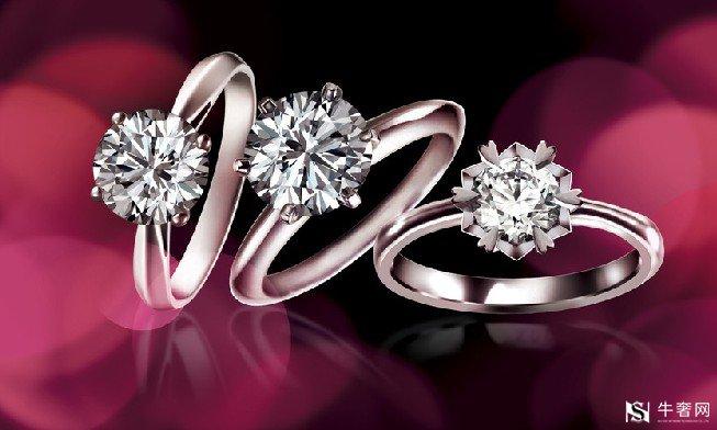 上海回收一克拉钻石戒指