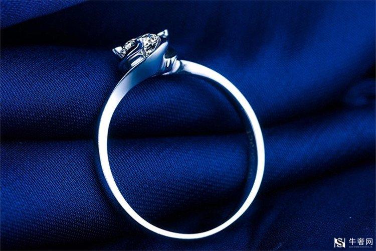 上海30分金伯利钻石戒指回收