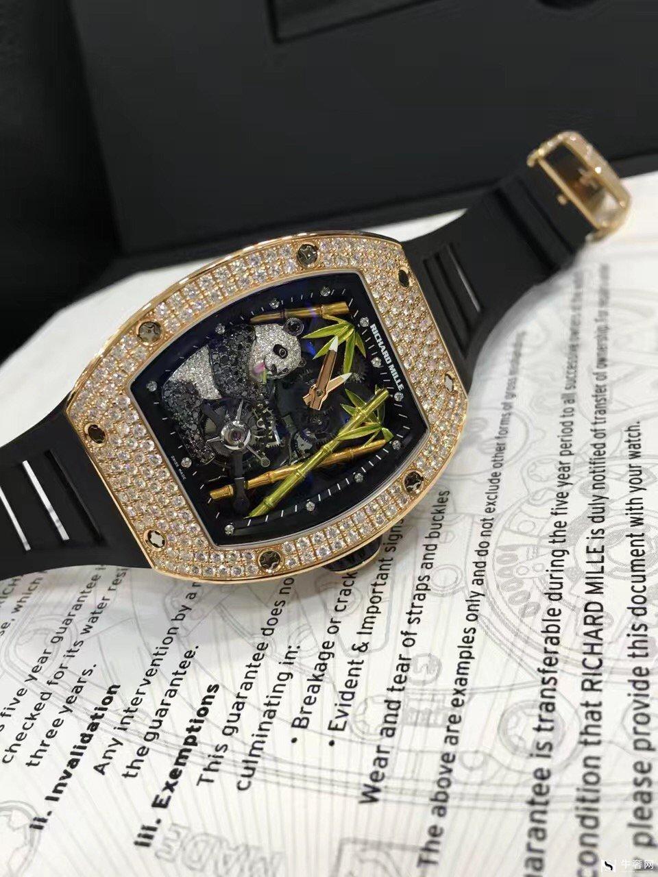 上海理查德米勒熊猫陀飞轮腕表回收
