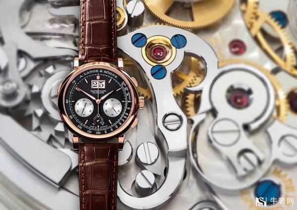 上海朗格LANGEMATIK PERPETUAL腕表回收几折?