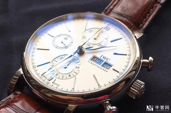 上海万国手表回收几折,葡萄牙计时腕表性能怎